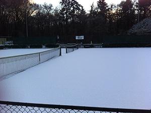 Tennis in de winterperiode